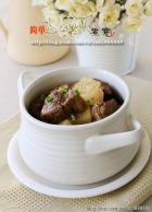沙茶牛肉煲的做法