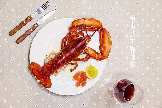 宴客菜奶香波士顿龙虾的做法,怎么做,奶香波士顿龙虾如何做好吃详细步骤图解