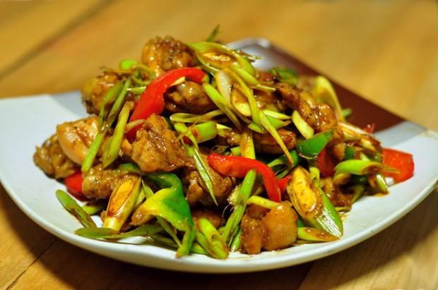 泰式香茅鸡的做法