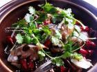 蒜香砂锅鱼头的做法