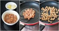 毛豆肉丁炒茄子的做法图片步骤2