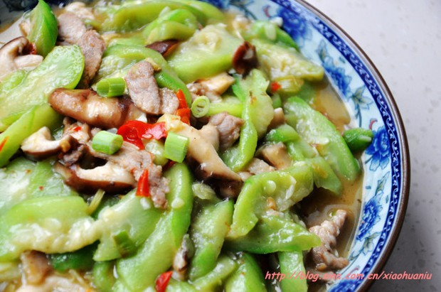 丝瓜烧鲜菇的做法