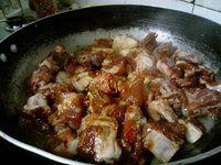 茄汁黄豆排骨饭的做法图片步骤5