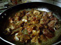 茄汁黄豆排骨饭的做法图片步骤6