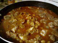 茄汁黄豆排骨饭的做法图片步骤8