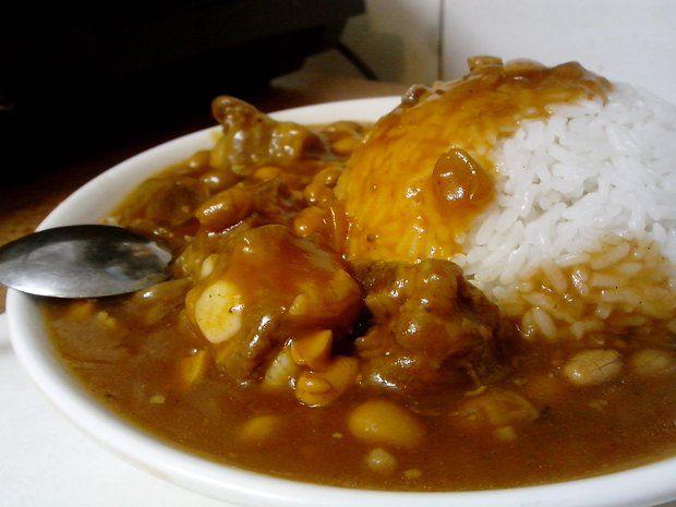 茄汁黄豆排骨饭的做法