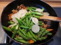 酱爆肉片芦笋的做法图片步骤2