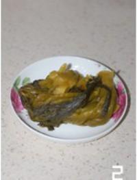酸菜炒肉丝的做法图片步骤2