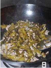 酸菜炒肉丝的做法图片步骤8