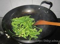 虾米韭菜花的做法图片步骤2