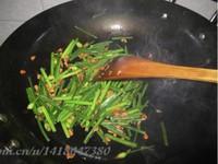 虾米韭菜花的做法图片步骤3
