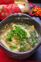 鸡汤干豆腐的做法