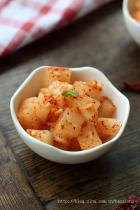 韩式泡菜萝卜的做法