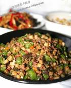 茄子杭椒炒肉末的做法,怎么做,茄子杭椒炒肉末如何做好吃详细步骤图解