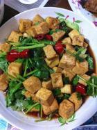 开胃下饭辣椒豆腐的做法,怎么做,辣椒豆腐如何做好吃详细步骤图解