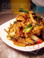 干白辣椒炒肉的做法