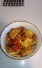 洋葱炒豆腐的做法