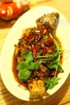 香辣豆豉干烧鲈鱼的做法