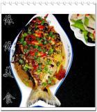 蒜蓉豆豉烧鳊鱼的做法