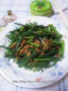 虾米韭菜花的做法