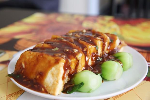 虾皮锅塌豆腐的做法