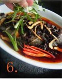 香辣豆豉蒸鱼的做法图片步骤6