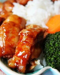 日式照烧鸡腿饭的做法图片步骤8