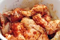 炖辣鸡翅的做法图片步骤1