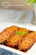 桂花红糖糯米藕的做法