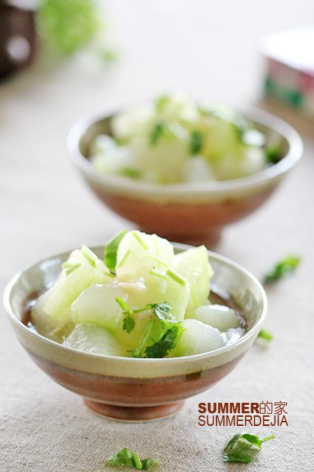 虾米烧冬瓜的做法,怎么做,虾米烧冬瓜如何做好吃详细步骤图解