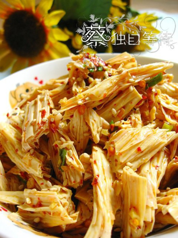 夏季凉菜凉拌腐竹的做法,怎么做,凉拌腐竹如何做好吃详细步骤图解