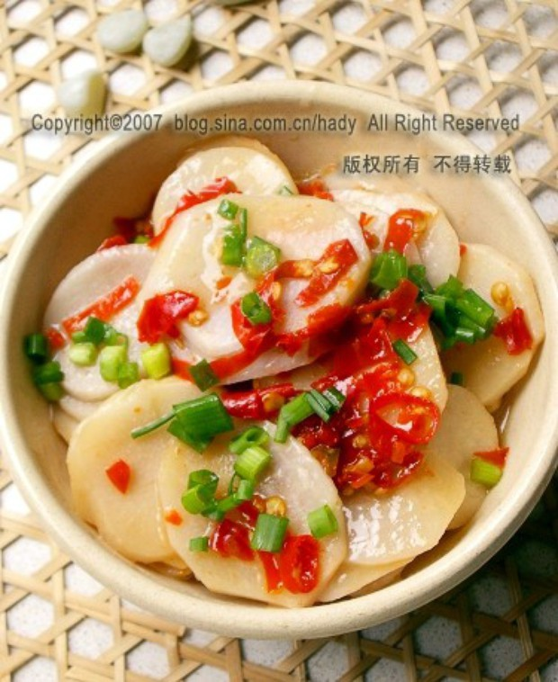 剁椒芋片的做法