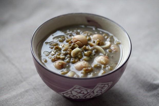 绿豆百合莲子汤的做法,怎么做,绿豆百合莲子汤如何做好吃详细步骤图解