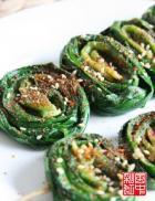 烤韭菜的做法