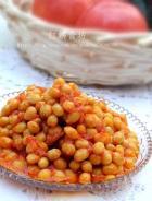 西红柿焗黄豆的做法