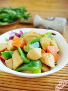 家常素菜 清炒胡萝卜杏鲍菇的做法,怎么做,清炒胡萝卜杏鲍菇如何做好吃详细步骤图解