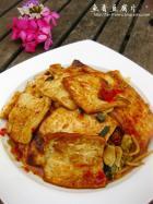 鱼香豆腐片的做法