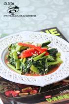 家常素菜 腐乳通菜的做法,怎么做,腐乳通菜如何做好吃详细步骤图解