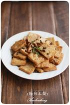椒麻煎豆腐的做法