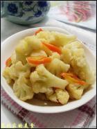 清炒菜花的做法