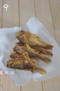 酥炸小黄鱼的做法图片步骤9
