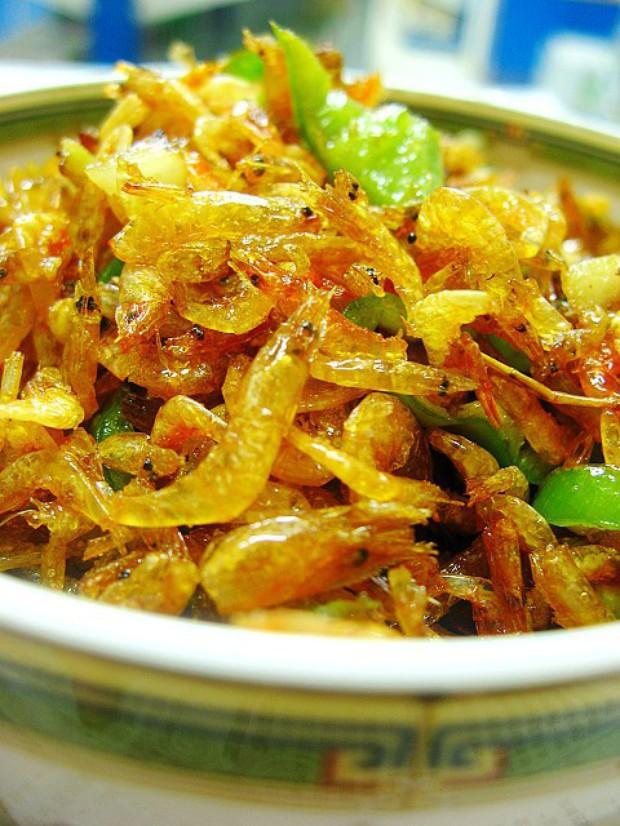 蒜香虾米的做法,怎么做,蒜香虾米如何做好吃详细步骤图解