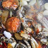 麻辣砂锅螃蟹的做法图片步骤6