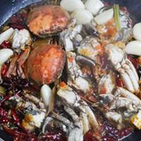 麻辣砂锅螃蟹的做法图片步骤7