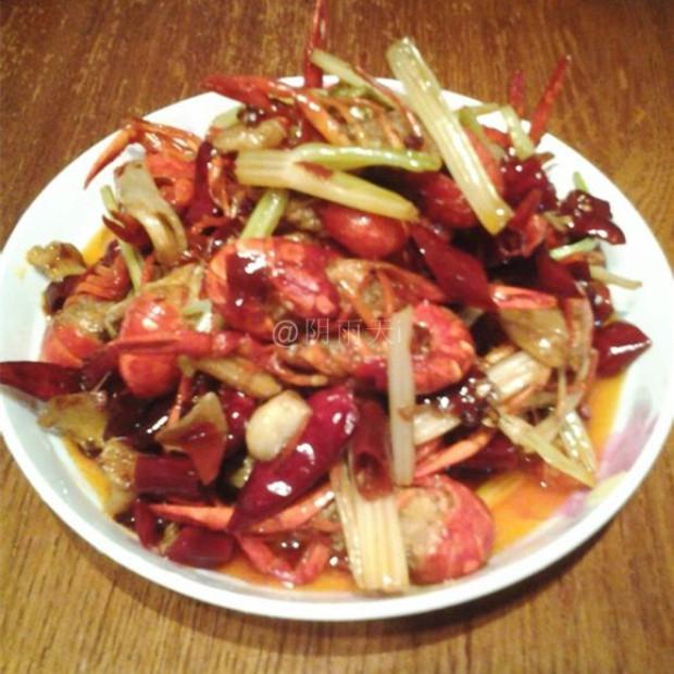 家常下酒菜香辣小龙虾的做法,怎么做,香辣小龙虾如何做好吃详细步骤图解