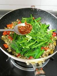 韭香螺蛳肉的做法图片步骤7