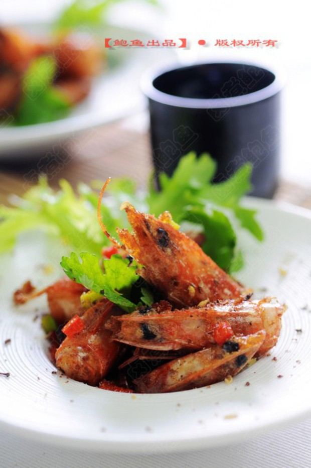 椒盐虾头的做法