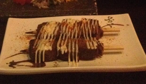 日式居酒屋香烤味增牛舌的做法