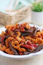 麻花煸牛肉的做法