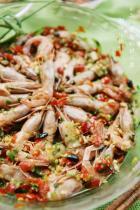 剁椒北极虾的做法